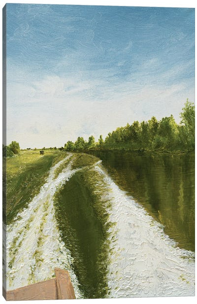 Fisherman's Road Canvas Art Print