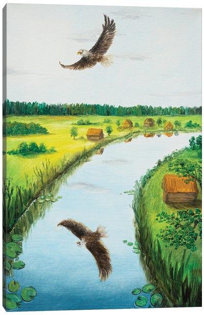 Free Eagle Canvas Art Print