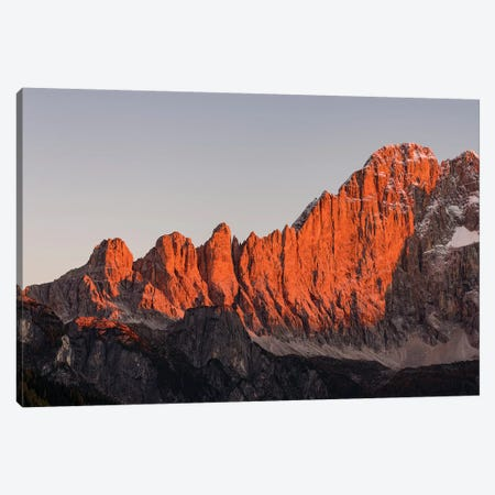 Mount Civetta is one of the icons of the Dolomites, Italy I Canvas Print #MZW13} by Martin Zwick Canvas Art Print