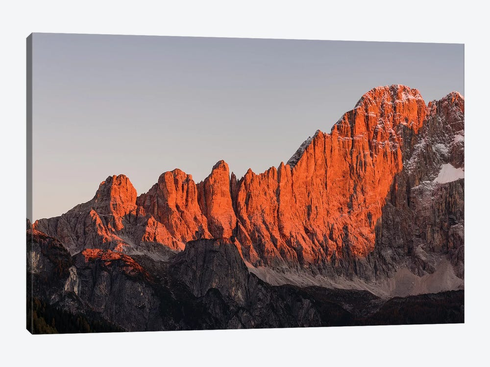 Mount Civetta is one of the icons of the Dolomites, Italy I by Martin Zwick 1-piece Canvas Artwork