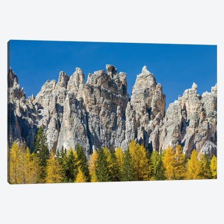 Peaks of the southern Civetta mountain range, Val dei Cantoni, dolomites, Veneto, Italy Canvas Print #MZW19} by Martin Zwick Canvas Print
