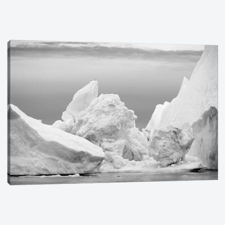 Ilulissat Icefjord At Disko Bay. The Icefjord Is Listed As Unesco World Heritage Site, Greenland. Canvas Print #MZW210} by Martin Zwick Art Print