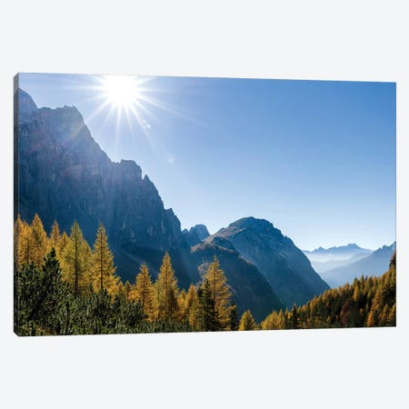 Valle Corpassa in the Civetta Mountain range, dolomites, Veneto, Italy I Canvas Print #MZW28} by Martin Zwick Canvas Art