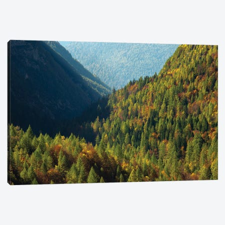 Italy, Valle Corpassa in Civetta, Moiazza mountain range in the dolomites of the Veneto Canvas Print #MZW293} by Martin Zwick Canvas Art Print