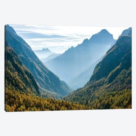 Valle Corpassa in the Civetta Mountain range, dolomites, Veneto, Italy II Canvas Print #MZW29} by Martin Zwick Canvas Wall Art