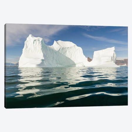 Iceberg in the Uummannaq Fjord System. America, North America, Greenland, Denmark Canvas Print #MZW310} by Martin Zwick Canvas Art