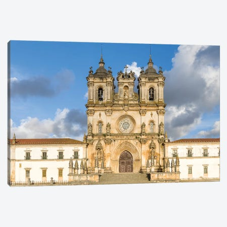 Monastery of Alcobaca, Mosteiro de Santa Maria de Alcobaca, UNESCO World Heritage Site. Portugal Canvas Print #MZW48} by Martin Zwick Canvas Artwork