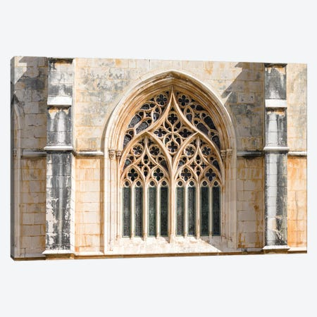 Monastery of Batalha, Mosteiro de Santa Maria da Vitoria, Lisbon, Portugal Canvas Print #MZW49} by Martin Zwick Canvas Artwork