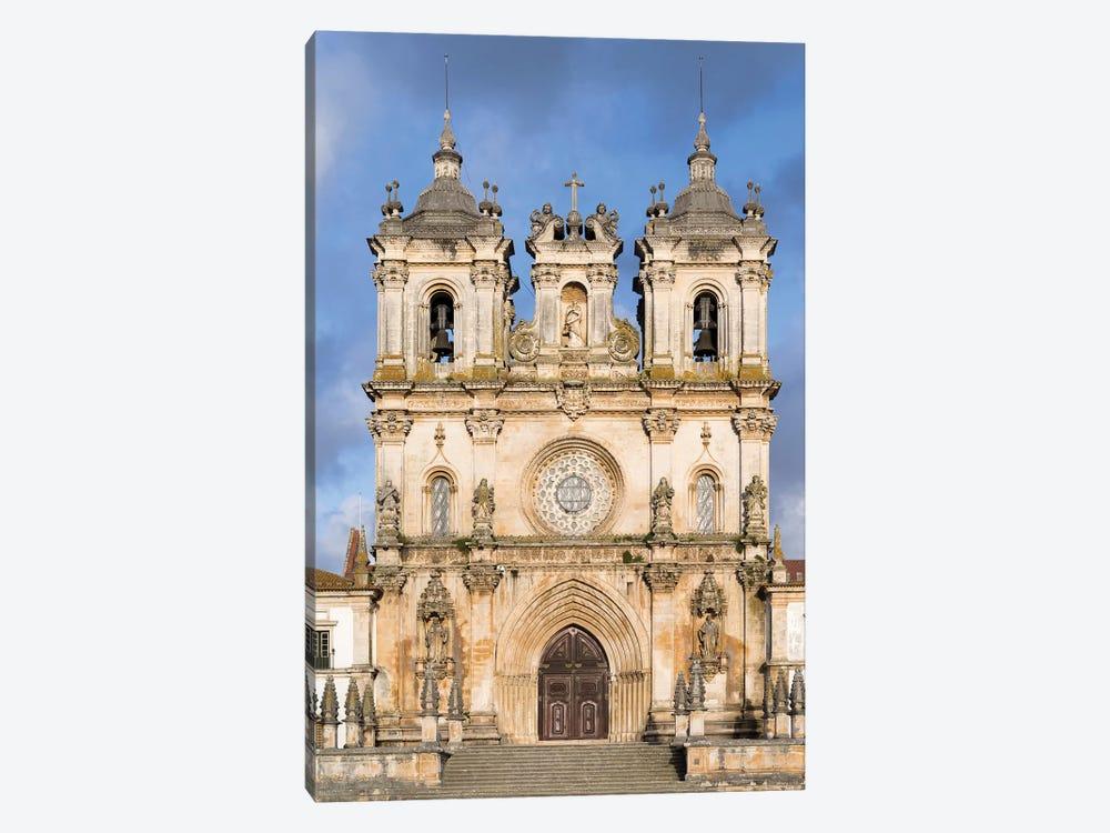 The monastery of Alcobaca, Mosteiro de Santa Maria de Alcobaca. Portugal. by Martin Zwick 1-piece Canvas Print