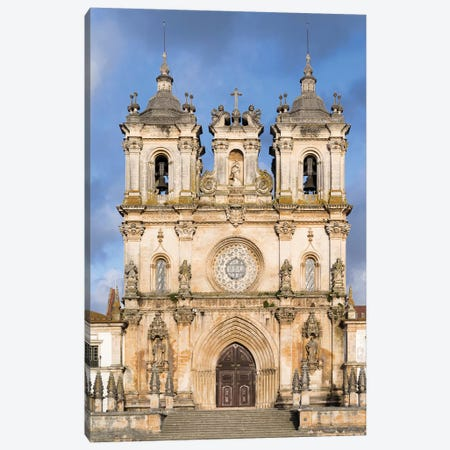 The monastery of Alcobaca, Mosteiro de Santa Maria de Alcobaca. Portugal. Canvas Print #MZW54} by Martin Zwick Canvas Artwork