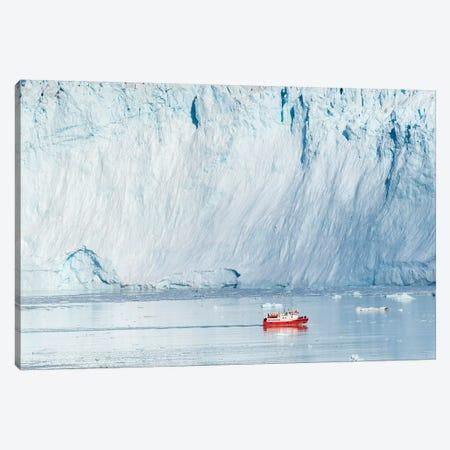 Glacier Eqip (Eqip Sermia) in western Greenland, Denmark Canvas Print #MZW73} by Martin Zwick Canvas Print