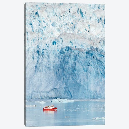 Glacier Eqip (Eqip Sermia) in western Greenland, Denmark Canvas Print #MZW74} by Martin Zwick Canvas Artwork