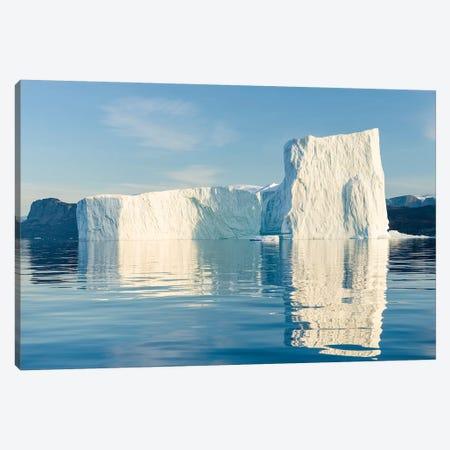 Icebergs in the Uummannaq fjord system, northwest Greenland, Denmark Canvas Print #MZW80} by Martin Zwick Canvas Art