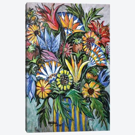 Flowers X Canvas Print #NAA109} by Nagui Achamallah Art Print