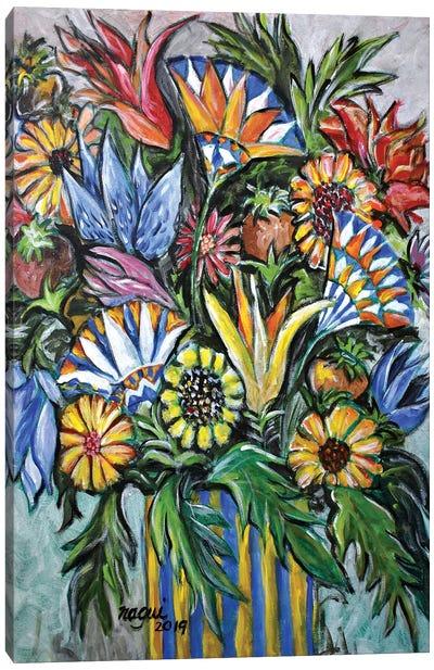 Flowers X Canvas Art Print