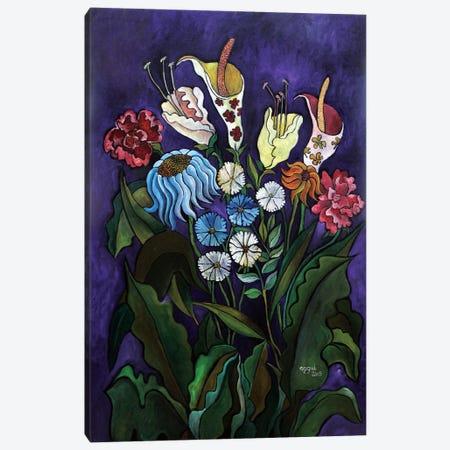 Flowers II Canvas Print #NAA10} by Nagui Achamallah Art Print