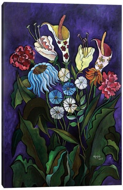 Flowers II Canvas Art Print