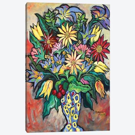 Flowers XIV Canvas Print #NAA110} by Nagui Achamallah Canvas Art