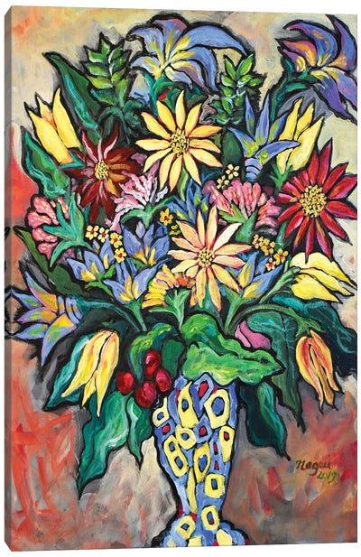 Flowers XIV Canvas Art Print