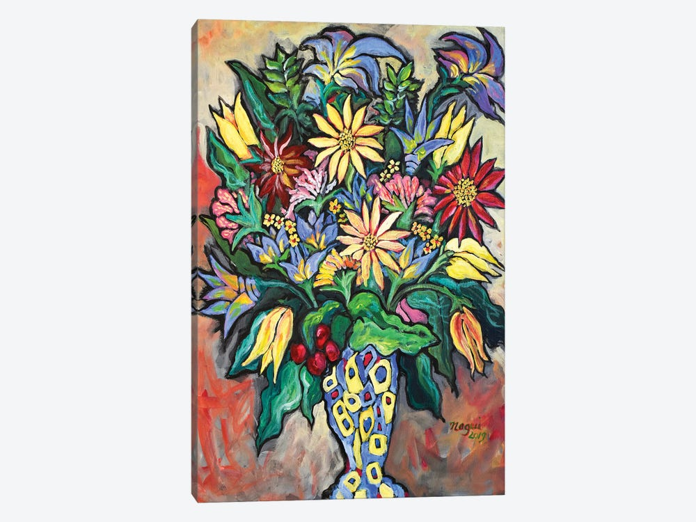 Flowers XIV by Nagui Achamallah 1-piece Art Print