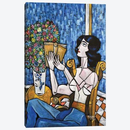 Paperback Canvas Print #NAA112} by Nagui Achamallah Canvas Artwork