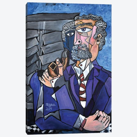 Pipe Canvas Print #NAA118} by Nagui Achamallah Canvas Art