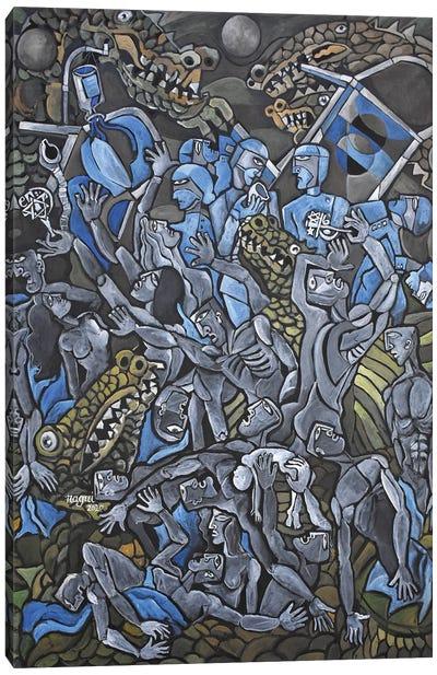 Pandemic Canvas Art Print