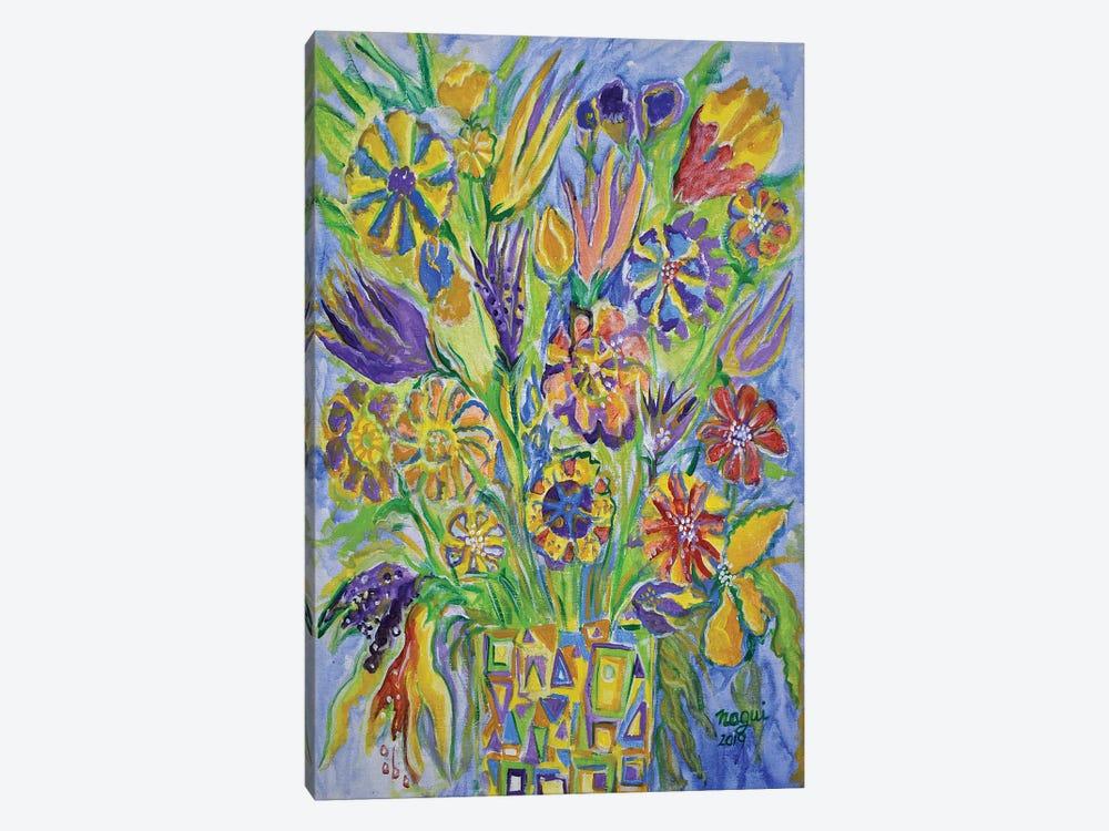 Flowers III by Nagui Achamallah 1-piece Art Print