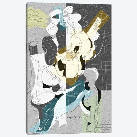 Guitar 125 Canvas Print #NAA129} by Nagui Achamallah Canvas Art Print