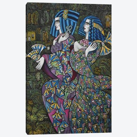 Women Of Egypt Canvas Print #NAA137} by Nagui Achamallah Canvas Print