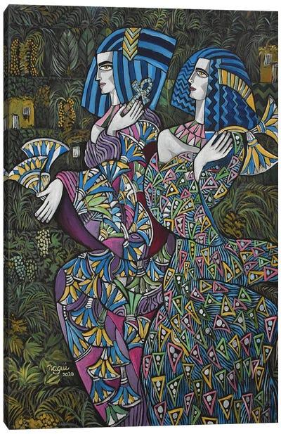 Women Of Egypt Canvas Art Print