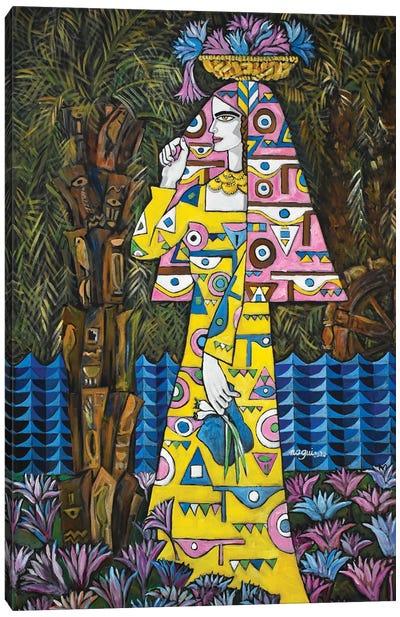 Egyptian Lotus Canvas Art Print