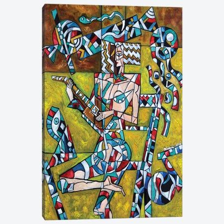 Lute Canvas Print #NAA17} by Nagui Achamallah Canvas Artwork