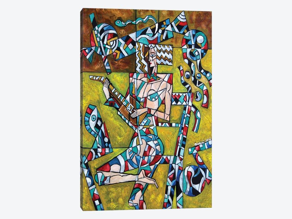 Lute by Nagui Achamallah 1-piece Canvas Art