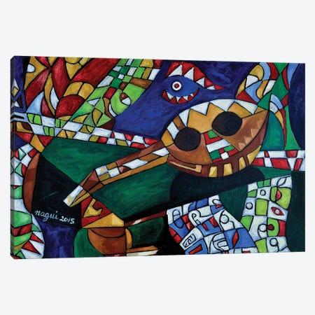 Mandoline II Canvas Print #NAA18} by Nagui Achamallah Art Print