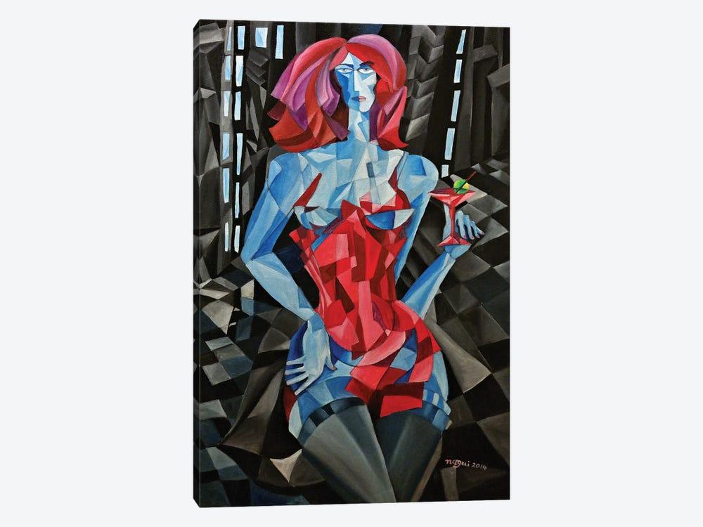 Martini by Nagui Achamallah 1-piece Canvas Artwork