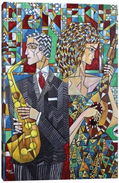 Musicians II Canvas Art Print