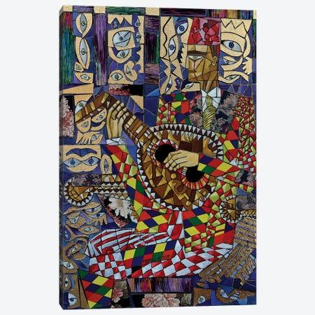 Oud Player Canvas Print #NAA24} by Nagui Achamallah Canvas Print