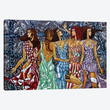 Silk Canvas Print #NAA27} by Nagui Achamallah Canvas Art Print