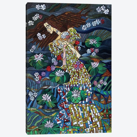 The Death Of Ophelia Canvas Print #NAA34} by Nagui Achamallah Canvas Art