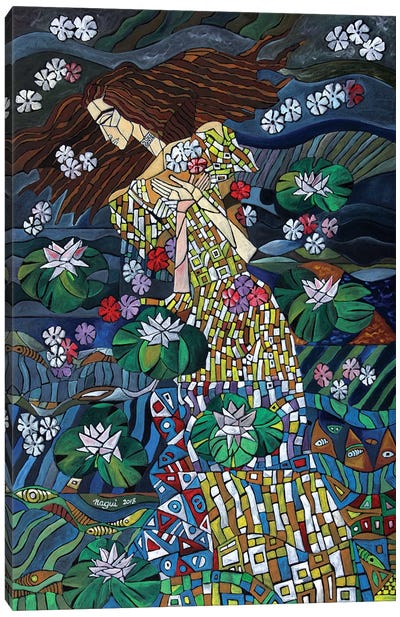 The Death Of Ophelia Canvas Art Print