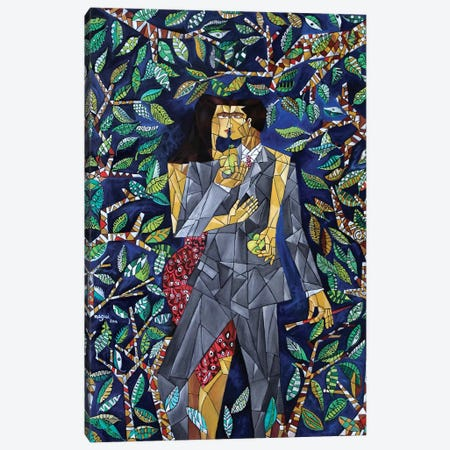 The Garden Canvas Print #NAA35} by Nagui Achamallah Canvas Wall Art