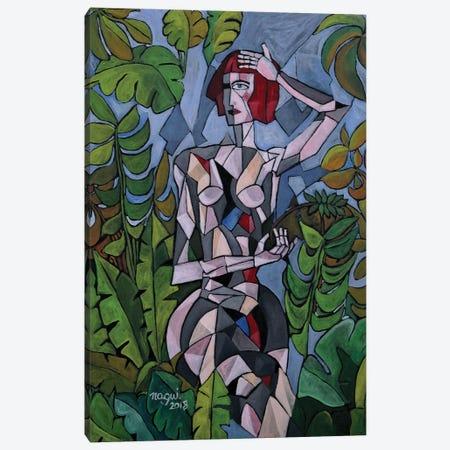 The Garden Of Good And Evil Canvas Print #NAA36} by Nagui Achamallah Canvas Wall Art