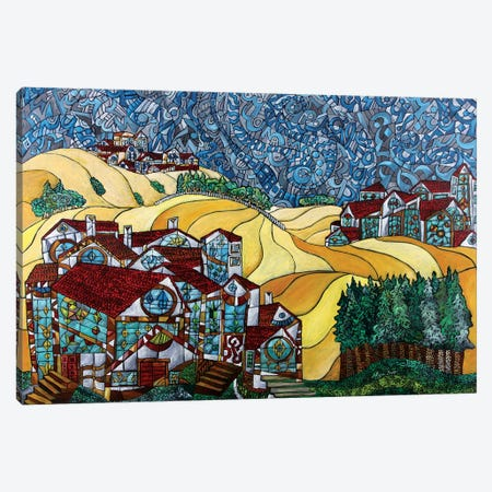 The Gold Hills Of California Canvas Print #NAA37} by Nagui Achamallah Canvas Artwork