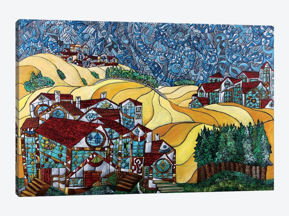 The Gold Hills Of California by Nagui Achamallah 1-piece Canvas Art