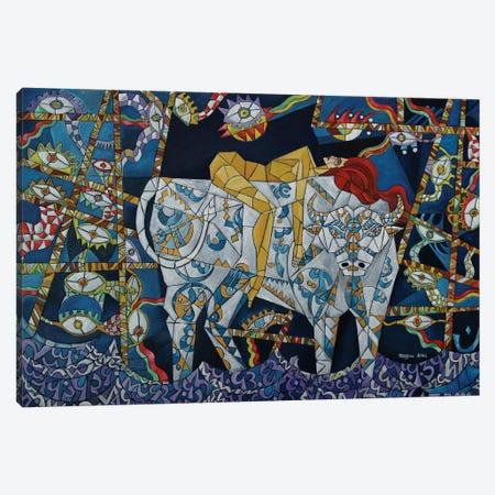 Zeus And Europa Canvas Print #NAA55} by Nagui Achamallah Canvas Wall Art