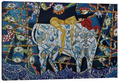 Zeus And Europa Canvas Art Print