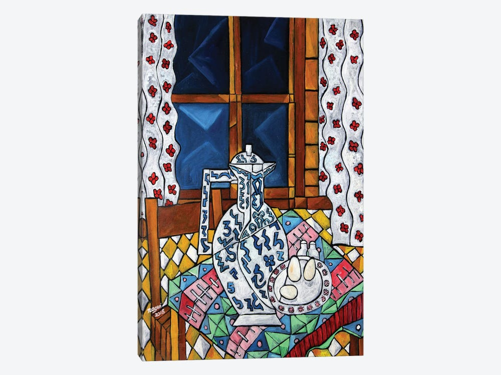 Breakfast Tablecloth by Nagui Achamallah 1-piece Art Print