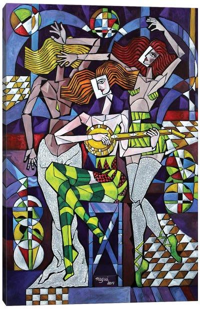 Fandango Canvas Art Print