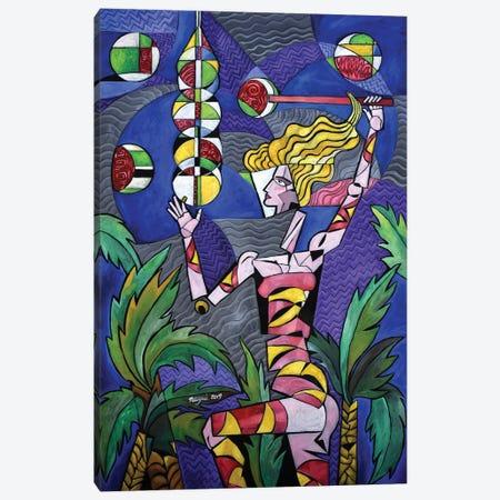 The Candy Alchemist Canvas Print #NAA66} by Nagui Achamallah Art Print